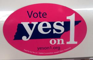 yes on 1